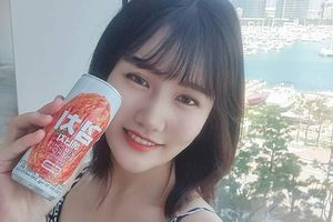 Cực dị nước tăng lực vị kim chi được gái Hàn yêu thích
