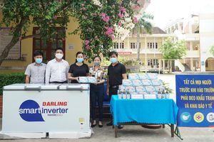 Văn phòng Miền Trung-Tây Nguyên của Báo Giáo dục và Thời đại hỗ trợ trường học vùng dịch