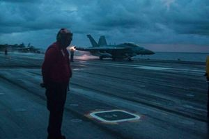 Nhóm tàu sân bay USS Ronald Reagan của Mỹ lần đầu tiến vào Biển Đông năm 2021