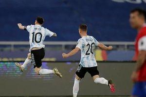 Messi nổ súng, Argentina vẫn bị cầm hòa trước Chile