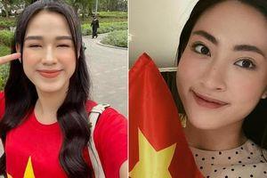 Đỗ Thị Hà-Lương Thùy Linh dự đoán sôi nổi về tỷ số trận Việt Nam và UAE tối nay