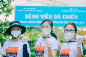 Nữ MC, người mẫu 9x tình nguyện hỗ trợ lấy mẫu tại vùng tâm dịch quận Gò Vấp