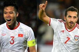 UAE vs Việt Nam: 3 cặp đối đầu đáng chú ý