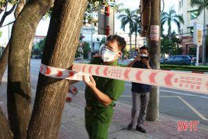 TP Hà Tĩnh lập thêm chốt phong tỏa ở phường Nguyễn Du
