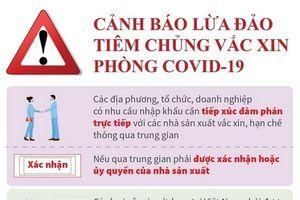 Cảnh báo lừa đảo tiêm chủng vaccine phòng COVID-19
