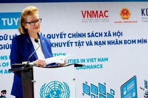 Ra mắt giải pháp số quán lý thông tin người khuyết tật tại Việt Nam