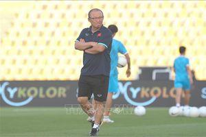Vòng loại World Cup 2022: HLV Park Hang-seo tính gì trước UAE?