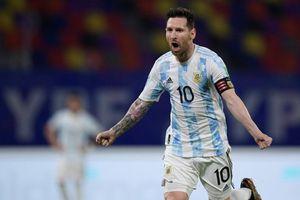 Messi đá phạt hoàn hảo, Argentina vẫn bị chia điểm ngày ra quân tại Copa America 2021