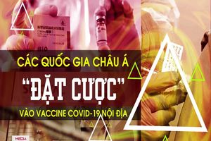 Các quốc gia châu Á 'đặt cược' vào vaccine COVID-19 nội địa