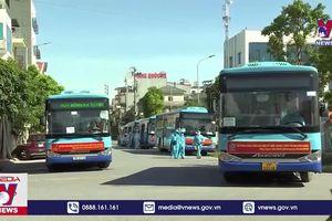 Hà Nội đón gần 300 công dân từ Bắc Giang về