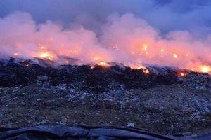 Đà Nẵng: Xác định được nguyên nhân khiến bãi rác Khánh Sơn bốc cháy