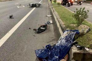 Đâm dải phân cách trên đường Bùi Viện, nam tài xế xe máy tử vong tại chỗ