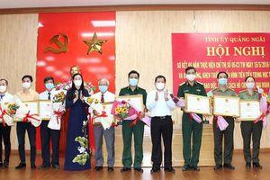 Tỉnh ủy Quảng Ngãi: Sơ kết 5 năm thực hiện Chỉ thị 05 của Bộ Chính trị