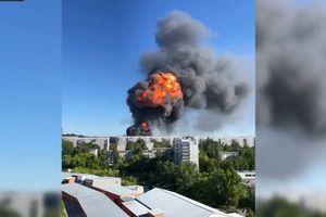 Kinh hoàng vụ nổ tại trạm xăng ở Siberia (Nga) khiến nhiều người bị thương