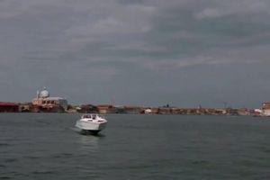 'Thuyền bay' giúp chống xói mòn ở Venice