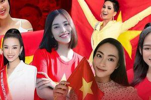 Hoa hậu Tiểu Vy chấp nhận làm 'osin', chăm thú cưng nhà 'bà trùm' để ủng hộ đội tuyển Việt Nam