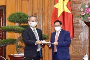 Nhật Bản hỗ trợ Việt Nam 1 triệu liều vắc xin phòng chống COVID-19