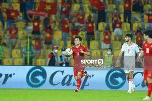 HLV tuyển UAE bất ngờ khi Việt Nam chơi thăng hoa quãng thời gian cuối trận