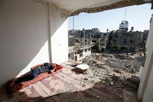 Đài phát thanh Hamas: Israel lại không kích Dải Gaza