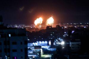 Israel lại không kích Dải Gaza