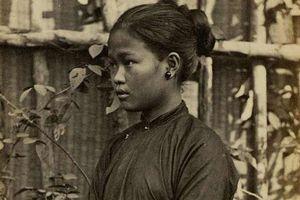 Ảnh chân dung thiếu nữ Việt chụp từ hơn 150 năm trước