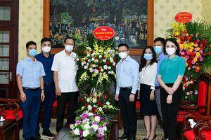Chủ tịch nước gửi lẵng hoa, các bộ, ngành, đơn vị chúc mừng Báo Nhân Dân nhân ngày 21-6