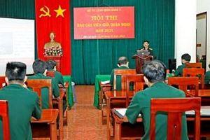 Quân đoàn 3 bế mạc Hội thi báo cáo viên giỏi năm 2021