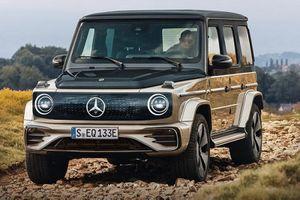 Mercedes-Benz EQG - 'ông vua địa hình' chạy điện sẽ như thế nào?