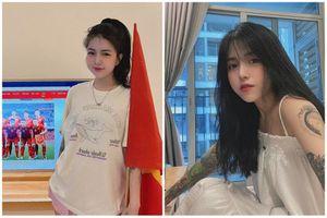 Lộ danh 'hot girl xăm trổ' cổ vũ đội tuyển Việt Nam