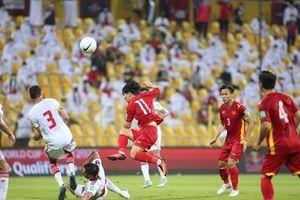 Nỗ lực tuyệt vời của đội tuyển Việt Nam