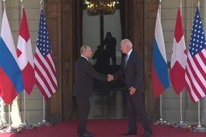 Hai ông Putin và Biden tới Thụy Sĩ, hội nghị thượng đỉnh bắt đầu