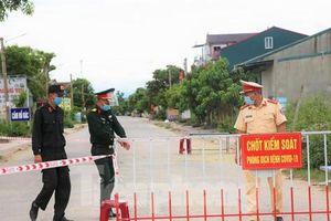 Giãn cách xã hội một huyện ở Nghệ An có ca nhiễm COVID-19 trong cộng đồng