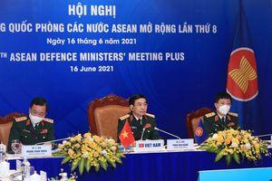 Thượng tướng Phan Văn Giang dự Hội nghị ADMM+ lần thứ 8