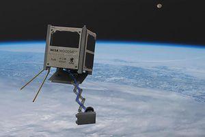 Châu Âu chuẩn bị phóng vệ tinh gỗ