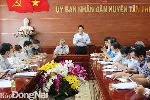 Huyện Tân Phú có 6 khu vực sạt lở đất cần xử lý