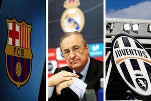 Juve, Barca và Real được tham dự Champions League mùa tới