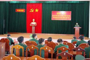 Sư đoàn 307 tổ chức Hội thi Tiểu đoàn trưởng, Chính trị viên Tiểu đoàn bộ binh và binh chủng năm 2021