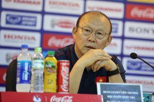 HLV Park Hang-seo: 'Tôi không muốn Việt Nam cùng bảng với Hàn Quốc…'