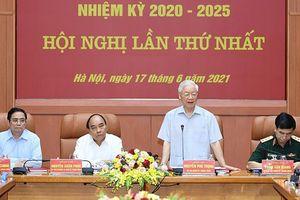 Ba lãnh đạo chủ chốt tham gia Quân ủy Trung ương