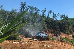 Quảng Nam: Truy quét các đối tượng khai thác vàng trái phép tại Bồng Miêu