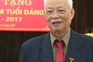 Đảng viên lão thành Trần Doãn Khánh qua đời