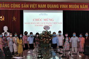 Thứ trưởng Đặng Hoàng Oanh chúc mừng Ngày báo chí Cách mạng Việt Nam 21/6