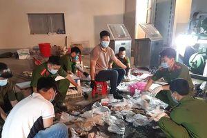 Đường dây ma túy quốc tế đóng hàng 'xuất khẩu' tại kho thịt đông lạnh ở Hà Nội