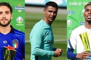Hành động giống nhau của Ronaldo, Pogba, Locatelli - 3 cầu thủ xuất sắc nhất các trận đấu