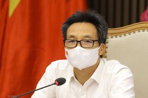 Phó Thủ tướng Vũ Đức Đam chủ trì họp với TP.HCM và tỉnh Bắc Giang