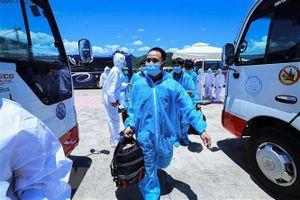 Thái Nguyên bác bỏ tin '500 công nhân về từ Bắc Giang trốn cách ly'