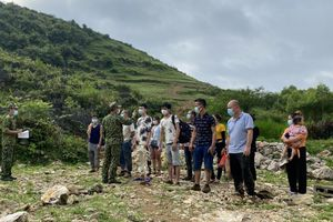 Bộ đội biên phòng Cao Bằng bắt giữ 15 trường hợp nhập cảnh trái phép
