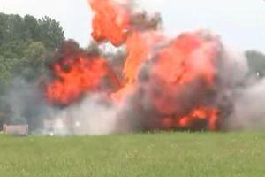 Nga thử nghiệm đạn nhiệt áp mới có sức mạnh phá hủy một boongke bằng bê tông cốt thép