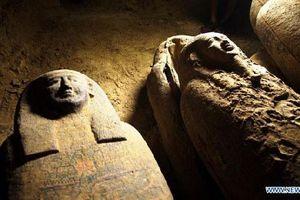 Tiết lộ về màu sơn bí ẩn trên quan tài 2.500 tuổi