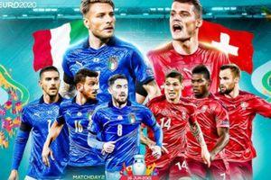 Kết quả Italia vs Thụy Sĩ, bảng A EURO 2020